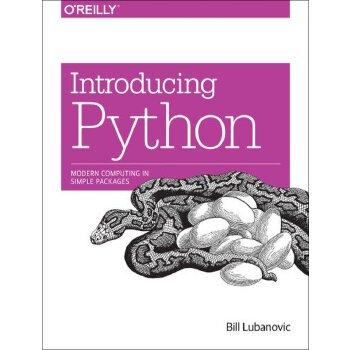 【预订】Introducing Python: Modern Computing in Simple Packages 9781449359362美国库房发货,通常付款后3-5周到货!