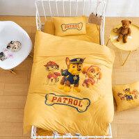 卡通动漫针织棉全棉四件套儿童婴儿纯棉三件套宿舍床上用品