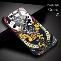 中国风华为荣耀10lite手机壳nova3玻璃壳p20pro原创意8x国潮复古麦芒7潮牌3i个性ma