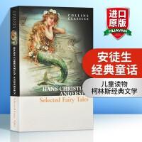 安徒生经典童话 英文原版书籍 Selected Fairy Tales 精选童话 青少年文学 儿童读物 柯林斯经典文学