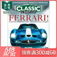 订阅Classic&Sportscar经典古董老爷汽车杂志英国英文原版年订13期