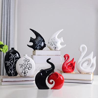 创意家居饰品工艺品个性装饰房间的小摆设卧室客厅酒柜装饰品摆件