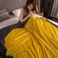 加厚双层毛毯珊瑚绒毯子法兰绒单人双人毛毯被冬季保暖床单盖毯