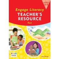 英文原版 Engage Literacy Red: Levels 3-5 Teacher's Resource Boo