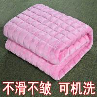 法兰绒床垫软垫榻榻米垫子垫被铺床褥子保暖1.2/1.8m床2米双人1.5