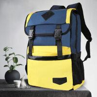 户外运动大容量初中生书包男女双肩包旅行背包学院时尚潮流中学生男生