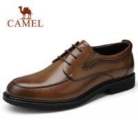 【下单立减120元】camel骆驼男鞋 秋季新款男士商务正装皮鞋防滑办公德比鞋休闲鞋