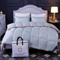 宝格丽酒店款尾单羽绒被95白鹅绒加厚冬被春秋全棉被芯子 200cmx230cm6斤