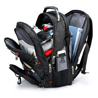 双肩包笔记本背包学生旅行女旅游书包商务男17寸大容量