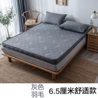 回弹垫板单人床垫睡垫厚10cm绵软1米2床垫硬垫实木1.2米铺床床单
