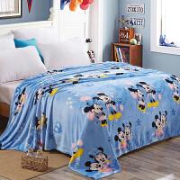 法兰绒毛毯珊瑚绒毯子秋冬保暖床单夏季午睡空调毯单双人毛巾被子
