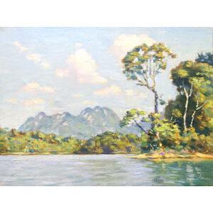 0565 莫斯科美术家协会会员 伊琳娜 《农村》