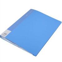 齐心NF40A3资料册40页文件册 A3插页夹 档案袋 报告夹一个价格颜色随机