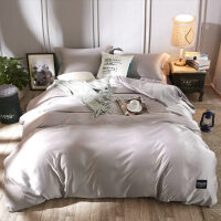 四件套全棉纯棉1.8m米床上用品4床单被套简约ins风双人水洗棉欧式