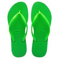 havaianas女款经典时尚细带人字拖Slim平底防滑哈瓦那拖鞋5211绿色