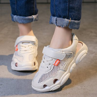 童鞋男童凉鞋包头2019新款儿童鞋子韩版透气小童软底宝宝鞋夏季女童鞋0293