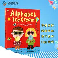 Alphabet Ice Cream A fantastic fun-filled ABC 英文吴敏兰书单原版绘本名家