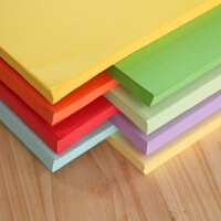 玛丽彩色纸 A4复印纸小学生用长方形叠纸手工纸儿童折纸 幼儿园宝宝80g打印纸a4纸DIY叠纸材料彩纸