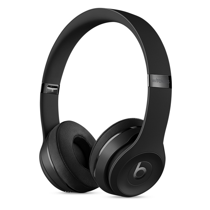 Beats Solo3 Wireless 头戴式耳机 黑色 MP582PA/A可使用礼品卡支付 国行正品 全国联保