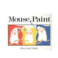 进口原版 Mouse Paint 老鼠作画 [平装] [2-6岁]
