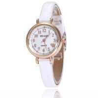 韩版时尚学生手表女士细带时装表贝壳面皮带石英腕表