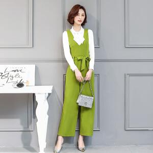 风轩衣度 套装时尚纯色显瘦气质韩版优雅潮流2018年春季新款 2311