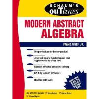 【预订】Schaum's Outline of Modern Abstract Algebra