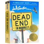 诺福镇的奇幻夏天 英文原版小说 Dead End in Norvelt 诺维特小镇的尽头 2012年纽伯瑞金奖小说 斯