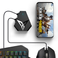 DAQI 雷剑S1蓝牙游戏手柄 支持安卓/苹果/PC电脑/电视 适配王者荣耀 龙之谷手游