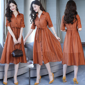 风选衣度 套装/套裙高腰开口两件套2018年夏季短袖中长款舒适修身纯色2331-1851