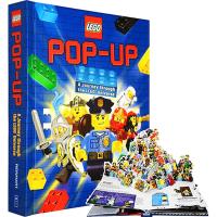华研原版 LEGO Pop-up 乐高积木立体3D玩具书 英文原版 变形金刚作者 幻影忍者 儿童节礼物 英文版 正版现