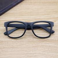 2018新品新款复古黑框眼镜框男女韩版无镜片大框眼镜架框架潮人平光镜