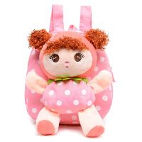 韩版吉宝娃娃毛绒幼儿园儿童书包女宝宝小背包2-3-4-5岁双肩包包