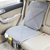 汽车儿童安全座椅防磨垫车用宝宝座椅保护垫防滑垫防踢垫