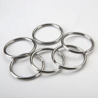 丛林豹不锈钢汽车钥匙圈扣钥匙环饰品钥匙圈配件大小圈SN1651