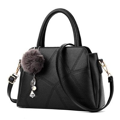 女士包包2017春夏新款女包手提包简约时尚单肩包斜挎大包包流苏包