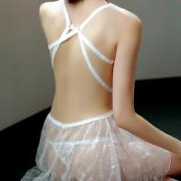 情趣内衣睡裙女透视性感激情套装制服小胸大码SM骚用品夜火露乳