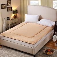 羊羔绒床垫榻榻米加厚保暖0.9M1.5X1.8X2X2.0X2.2米床褥护垫被子