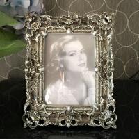 创意宫廷镂空相架欧式相框摆台6寸7寸婚纱照组合奢华儿童像框 1套(+)