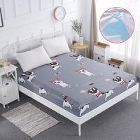 防水床笠单件床罩隔尿透气包床垫的套罩保护套1.5m1.8米床防尘罩