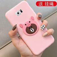 三星s7手机壳sm-g9308套G930f女款g930fd软s7g9308硅胶7s卡通g93oo保护