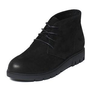 Teenmix/天美意冬季专柜同款磨砂牛皮简约日韩风女休闲靴AN871DD6
