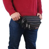 男士腰包 帆布多功能小挎包 迷你小包 女式腰间包 多口袋手机包