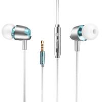 手机耳机线控重低音音乐运动金属外壳高保真苹果oppo耳机vivo华为小米中兴入耳式手机K歌HiFi耳塞
