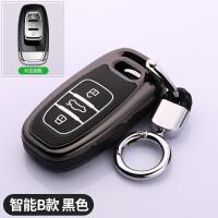 奥迪A4L钥匙套A6L保护套Q5壳A5 A7 A8专用汽车智能遥控钥匙包男女