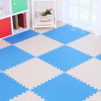 儿童爬行垫卧室拼图泡沫地垫大号加厚宝宝爬爬垫防潮游戏垫 纯色