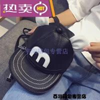 春夏新款韩版小圆包个性米奇帽子包包可双肩潮流单肩斜挎女包