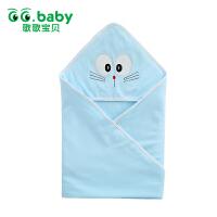 歌歌宝贝 新生儿抱被春秋婴儿薄款抱毯襁褓巾0-3个月用品
