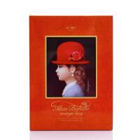 【中粮海外直采】红帽子橙色什锦饼干礼盒208g(日本进口 盒)