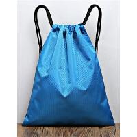 防水束口袋男女抽绳双肩包轻便简易旅行小背包收纳袋